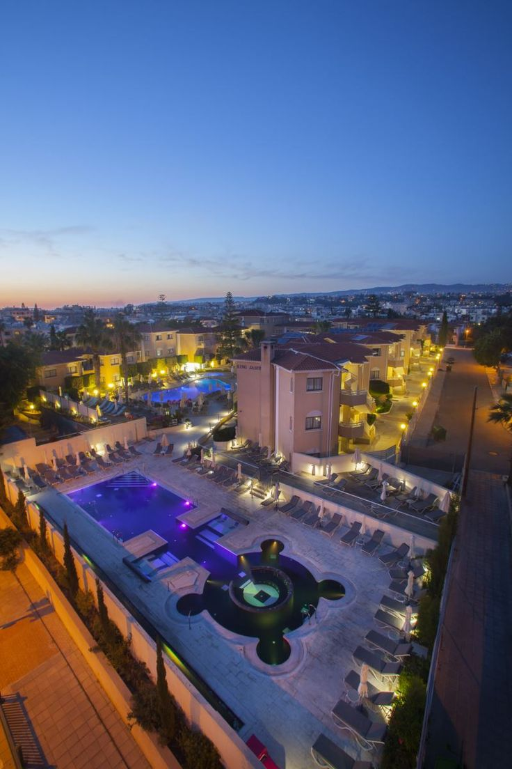 The King Jason luxury hotel in Paphos, Cyprus #pafos #luxuryhotel #cyprus #hotel #accommodation
