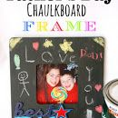 Father's Day Chaulkboard Frame