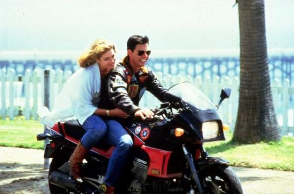 Top Gun - Best Movie Ever. 1985 Kawasaki Hurricane 900.  This is Rodney Izor in the 80's