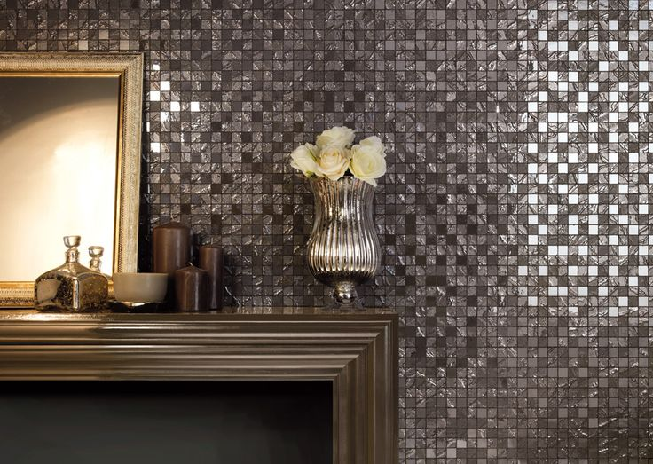 Minoli Tiles - Four Seasons - Natural and warm colour for this precious mosaic Four Seasons by Minoli. How your home can change with this treasure? - Wall Tiles: Four Seasons Fog 30 x 30 cm. - https://www.minoli.co.uk/tiles/four-seasons-fog/ - #fourseasons #Minoli #luxury #mosaic