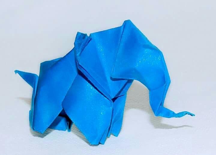 Origami elefante by Juliana Lima