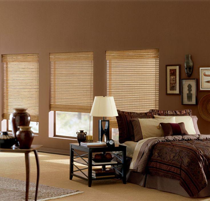 graber natural woven shades - Bamboo Window Shades
