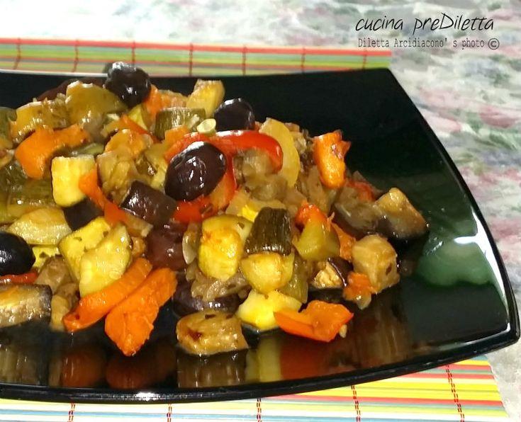 Verdure miste al forno