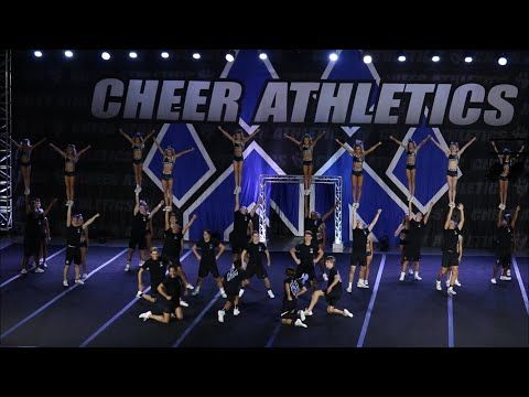 Cheer Athletics Cheetahs Blue Debut 2017-2018 - YouTube