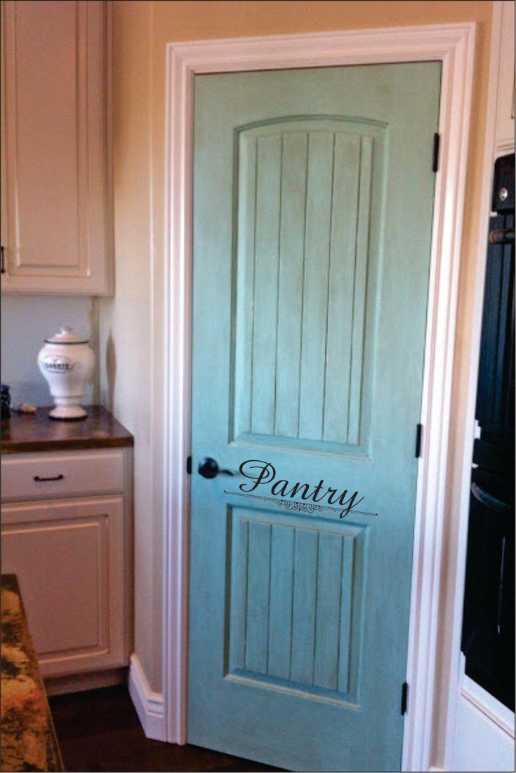 Best 25 Painted Pantry Doors Ideas On Pinterest Kitchen