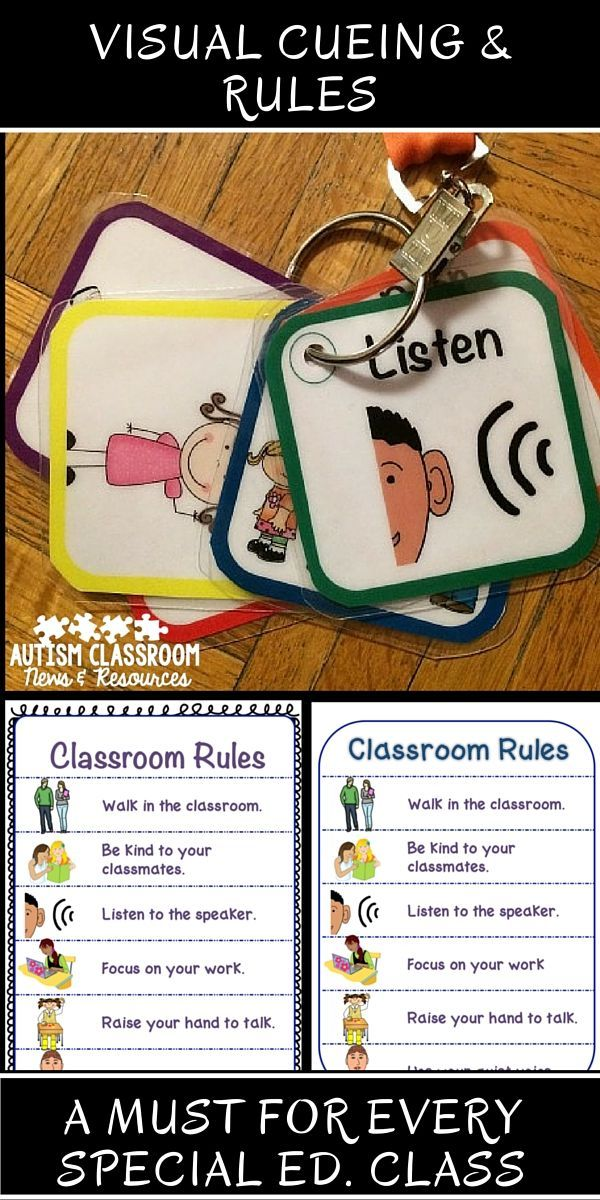 These visual supports are awesome for helping students understand the expectations and directions in the classroom.  Great for students with any type of communication difficulty. $