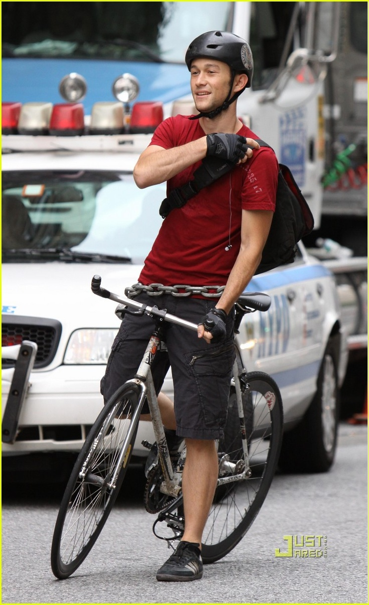 Joseph Gordon levitt from premium rush