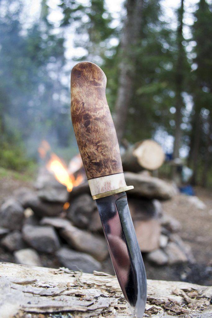 Puukko - Karesuando Boar - Karesuando Knife Factory - Visit them with #TransunTravel