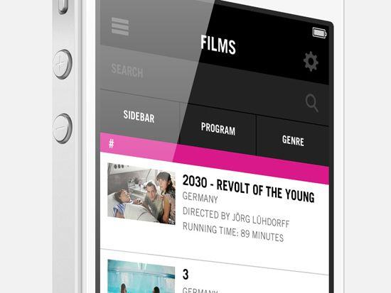 Filters Mobile UI by Joshua Slatinsky. 30 Beautiful Mobile UI Examples. #UI #mobile #design #inspiration