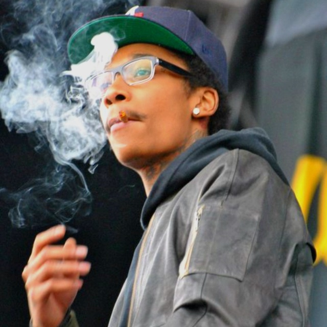 Front row for Wiz, he came out smoking a blunt. Summer Camp Music Festival 2011 Camera Nikon D 3000 300 mm lens