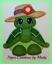 craftecafe Минди Outdoors летняя черепаха premade шитье по бумаге для страницы для скрапбукинга