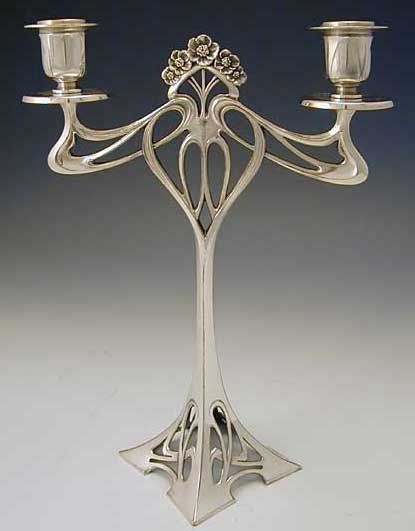 Art Nouveau candle holder | Art Nouveau