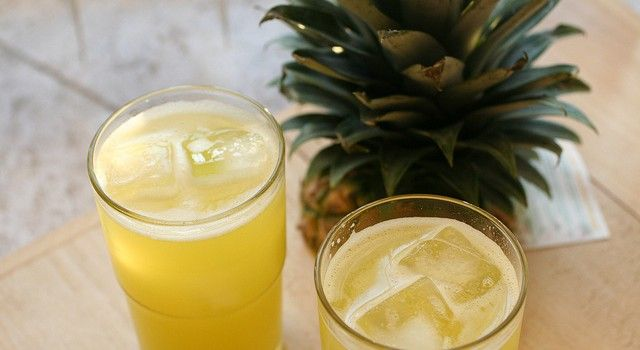 Cocktail all'ananas (analcolico)