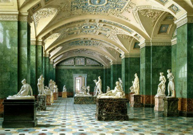 Christmas Exhibition of Porcelain Opened in the Hermitage Museum :: Russia-InfoCentre