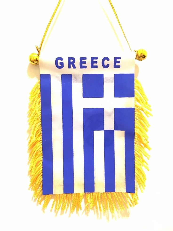 GREECE mini automobile car suv pickup truck vans Greece flag for car windows