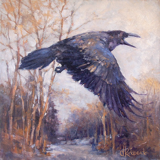 Black As Night: 36 Best Crow And Raven Art Images On Pinterest