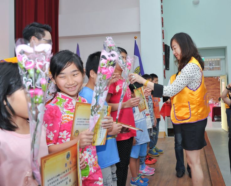 Lucky #LionsClub (Taiwan) provided scholarships to elementary school students