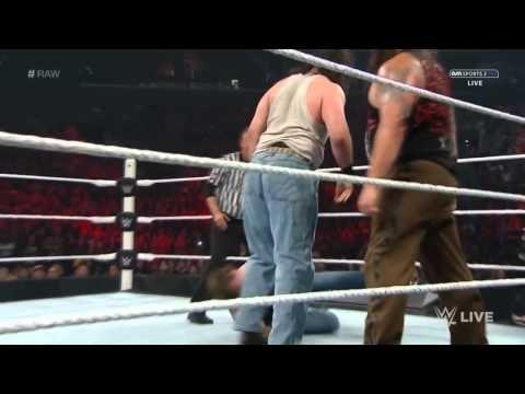 Roman Reigns & Dean Ambrose vs Bray Wyatt & Luke Harper (The Debut of Br...