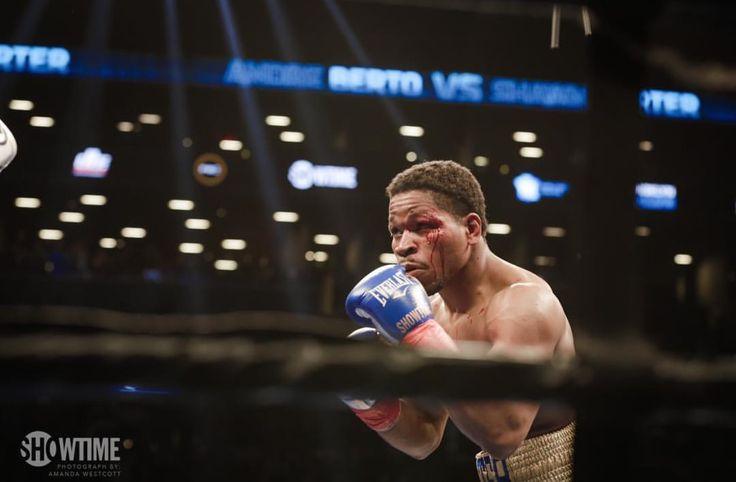Shawn Porter stops Andre Berto in rugged war #PorterBerto #Brooklyn #Boxing #WBC