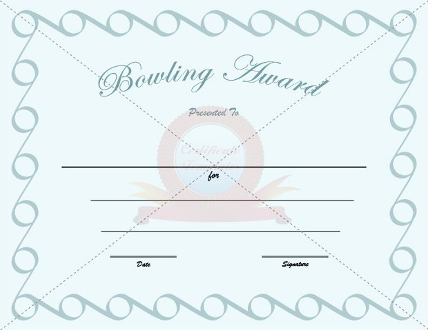 1000 images about bowling award template on pinterest for Bowling certificates template free