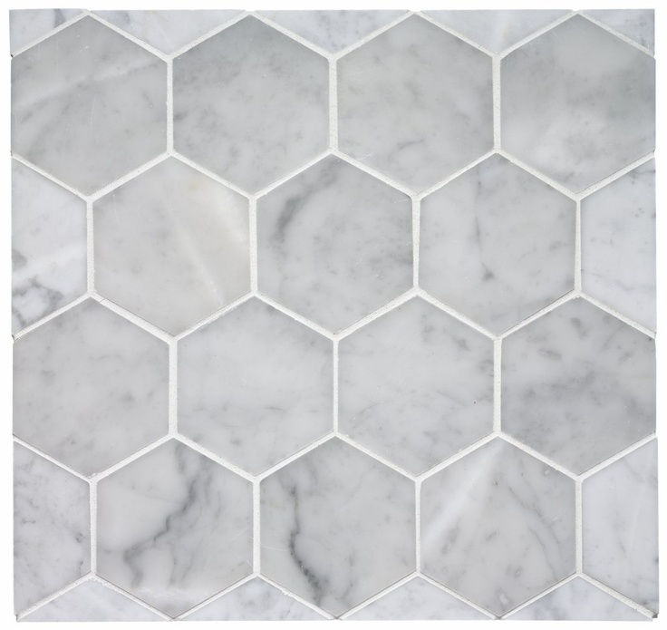 Keystone 3 7 8 Quot Hexagon Mosaic From Waterworks The Tile