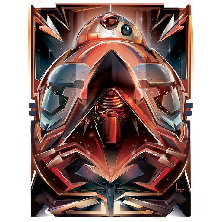 @starwars heres my #vector entry to #artawakenscontest @galleries1988 @unicef @hp @theforce_awakens I'll post up the actual vector on my http://ift.tt/1l1vkvj tomorrow. Cheers & keep your eyes open. @adobe #illustrator @adobecreativecloud @wacom @movieclips #fandango #movieclips #movieposter #mexifunk #popdeco #starwars #kylo #bb8 by mexifunk