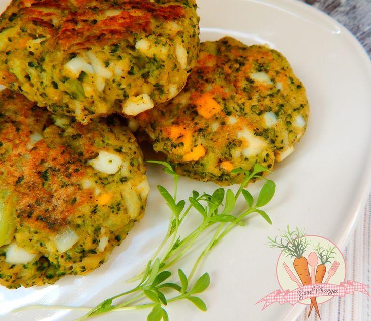 Kotleciki jajeczno-brokułowe. #glutenfree