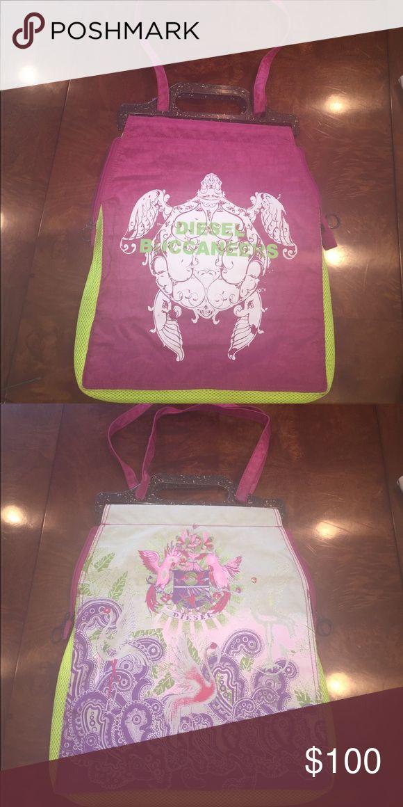 Diesel bag. colorful diesel bag. Diesel Bags Travel Bags
