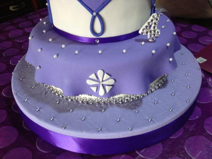 princesa sofia cake