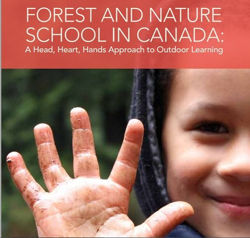 Forest and Nature School in Canada: A Head, Heart, Hands Approach to Outdoor Learning. A free resource on the forest school ethos from Forest School Canada.