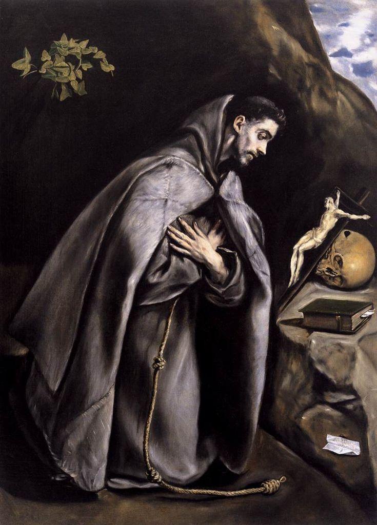 El Greco - St Francis Meditating - WGA10502 - El Greco — Wikipédia