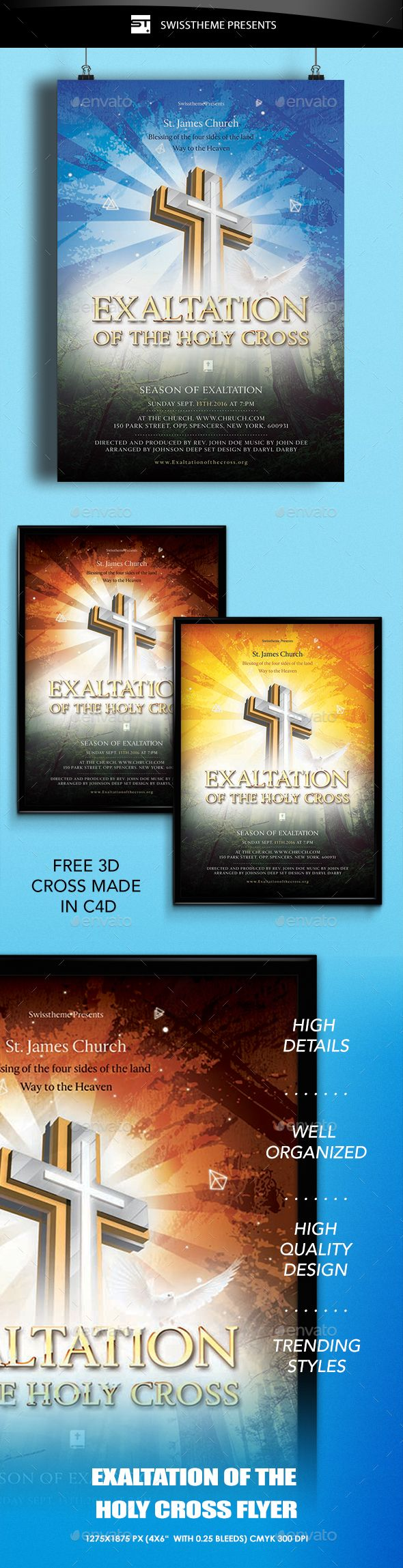 Exaltation of the Holy Cross Flyer