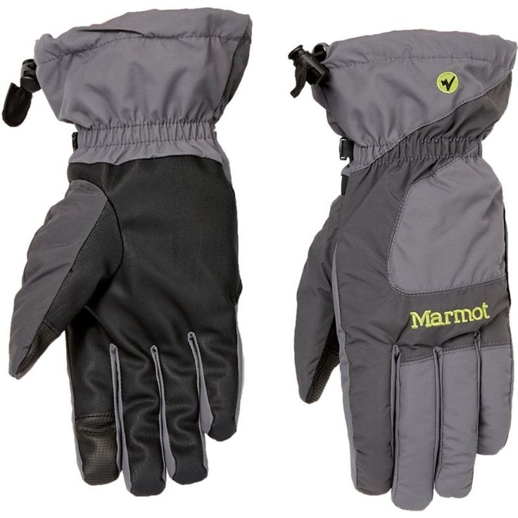 Marmot Men's Connect On Piste Insulated Gloves, Cinder