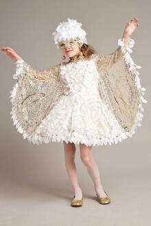 Snow Owl Costume For Girls