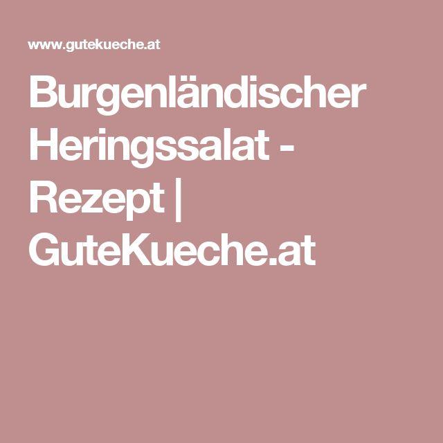 Burgenländischer Heringssalat - Rezept | GuteKueche.at