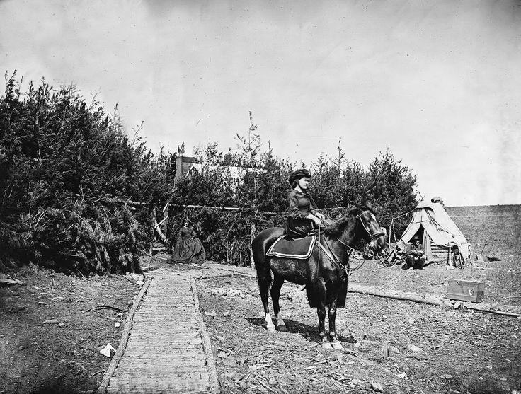 Camp scene, ladies in camp, 1860  Scenes of Civil War from the Father of American Photojournalism, Mathew Brady