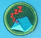 Patches :: Spoof Patches :: Spoof Merit Badges :: Snoring Merit Badge - Boy Scout Store - Boy Scout Collectibles & Memorabilia & Gifts