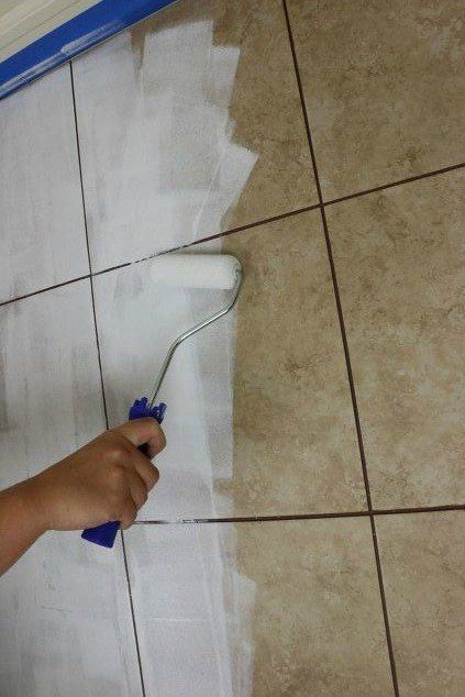 You'll be so happy you saw this! #tile #flooring #diy #homedecor #stencil