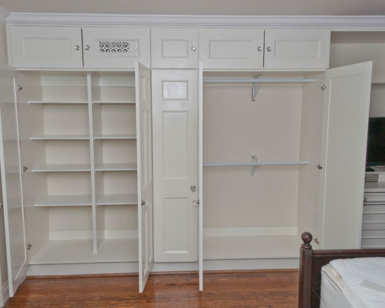 built in wall closet designs 3