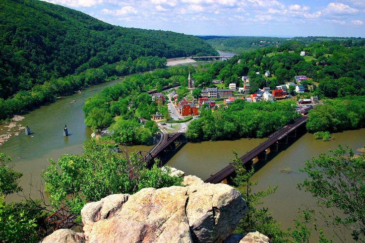 appalachian trail west virginia | ... North America: Harpers Ferry, West Virginia, USA Slaves' exile