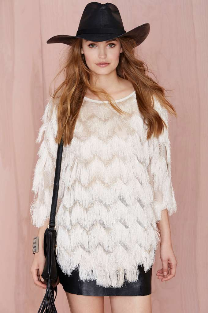 Shagging Rights Fringe Top | Shop What's New at Nasty Gal