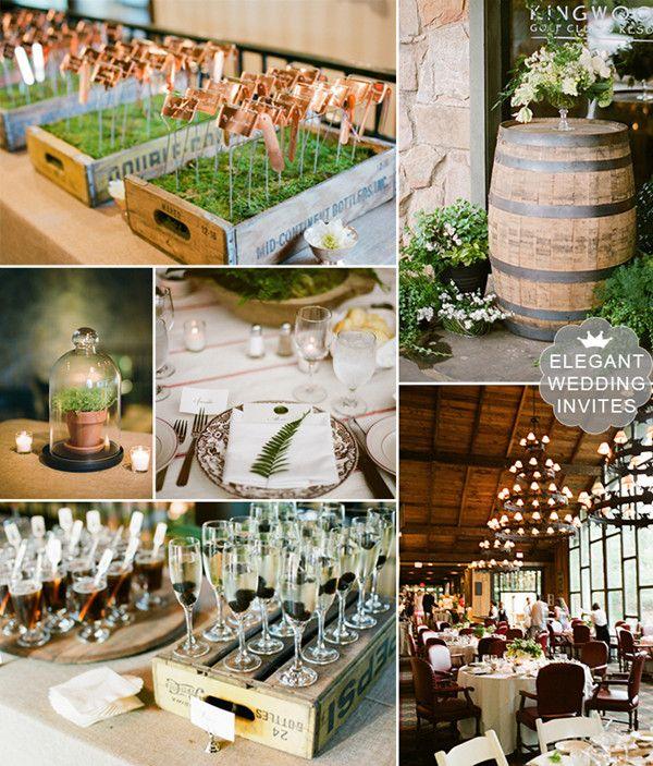 country rustic wedding ideas