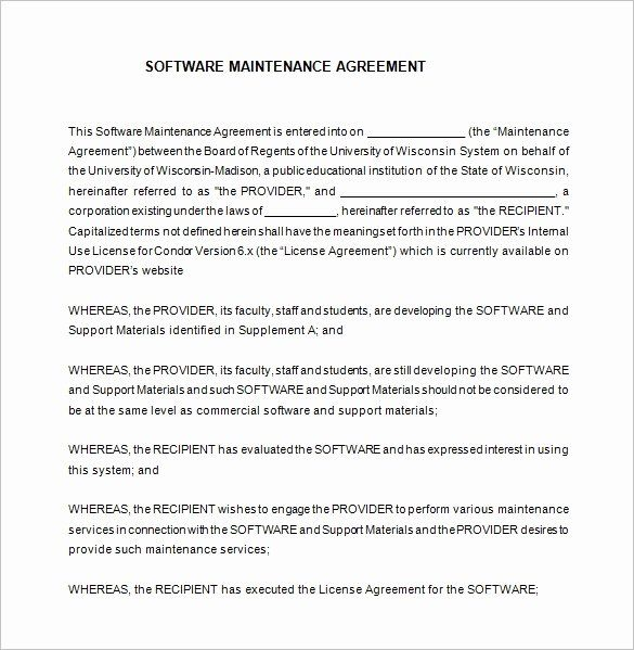It Support Contract Template Pdf Luxury 9 It Support Contract Templates Free Word Pdf Contract Template Contract Templates Business Card Template Design