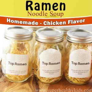 Homemade Top Ramen {Low Sodium}  http://www.superhealthykids.com/homemade-top-ramen-low-sodium/