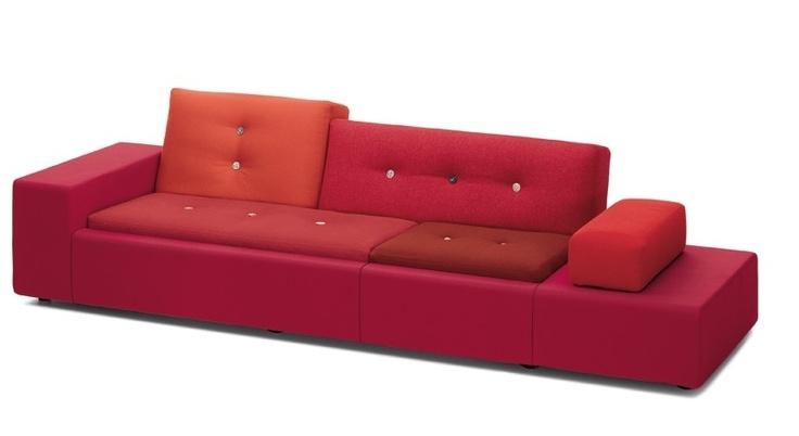 Rode polderland sofa