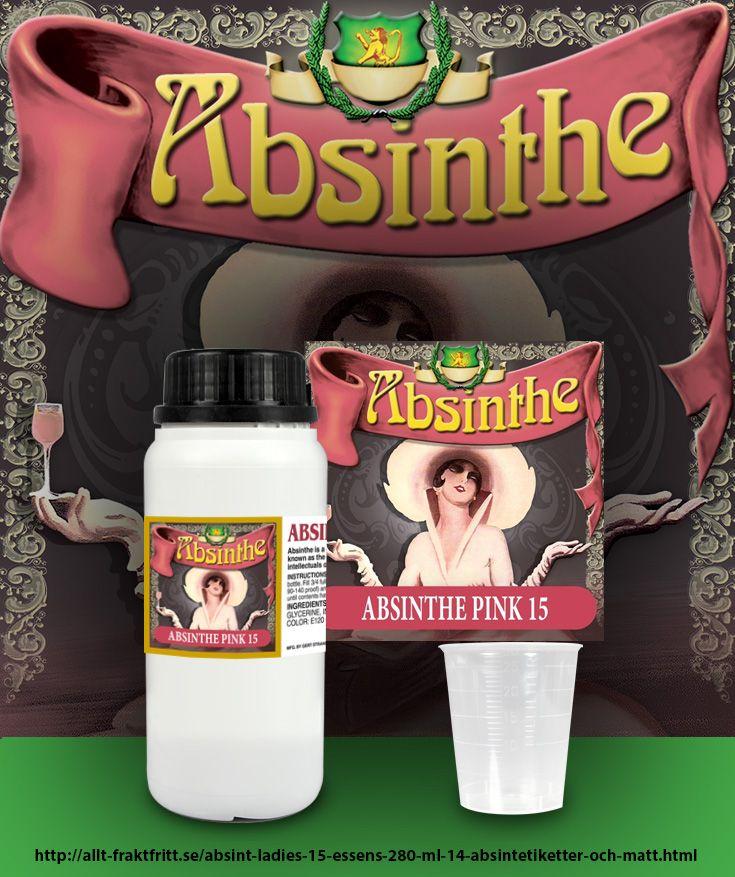 Riktig Absint med 15 mg tujon (alltså lite svagare än normala 35 mg) per flaska. Opaliserar.  Samma produkt som vi säljer till brännerier men packad i konsumentstorlek. Helt naturlig med alla örter som skall finnas i en Absinthe.  Blanda med fördel med lite starkare sprit, 45-70% efter smak.