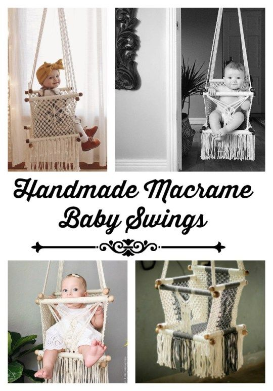 1000 images about kid blogger network activities crafts for Diy macrame baby swing
