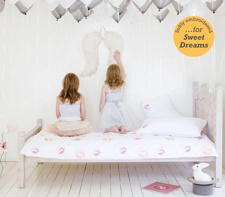 The Swan – Single Bed Duvet Set