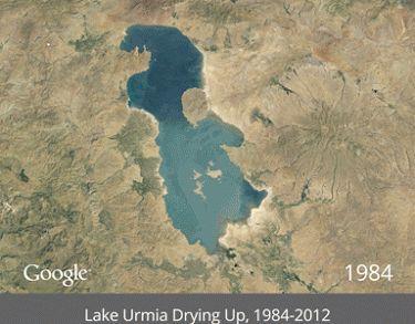 Lake Urmia Drying Up.gif