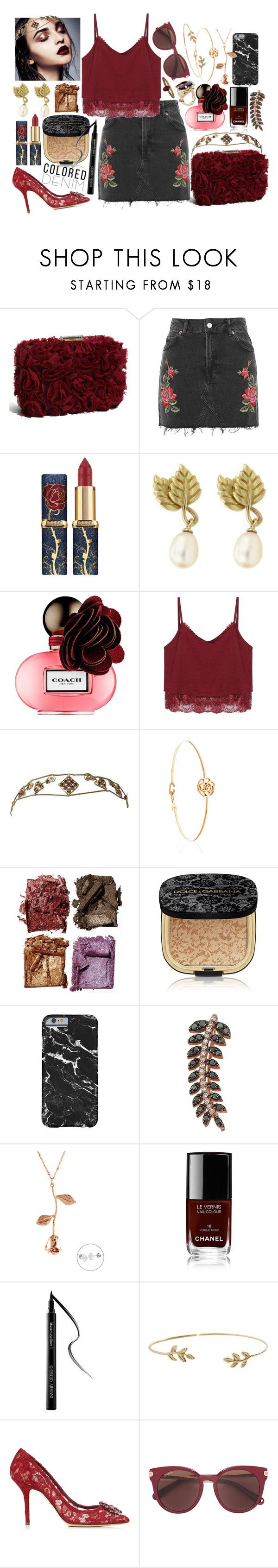 """John Wayne - Lady Gaga"" by leo8august ❤ liked on Polyvore featuring Franchi, Tiffany & Co., Coach, Illamasqua, Dolce&Gabbana, Bee Goddess, Chanel, Giorgio Armani, Humble Chic and Salvatore Ferragamo"